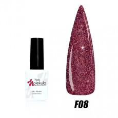Гель-лак Nails Molekula Flash effect collection №F08 6мл