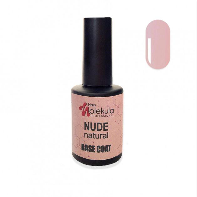 База бежевая Base Nudenatural Nails Molekula 12 мл