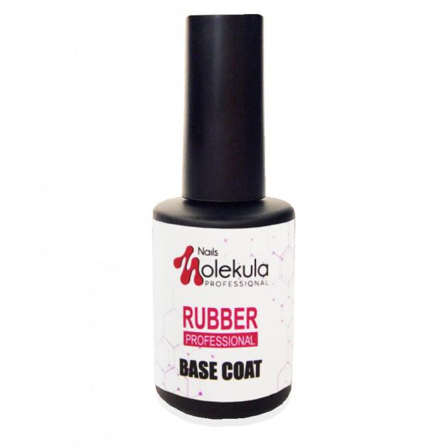 Каучуковая база для гель-лака Base Rubber professional Nails Molekula 12 мл