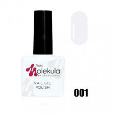 Гель-лак Gel Polish №001 Ультра Белый Nails Molekula 11 мл