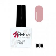 Гель-лак Gel Polish №006 Персиковый френч Nails Molekula 11 мл