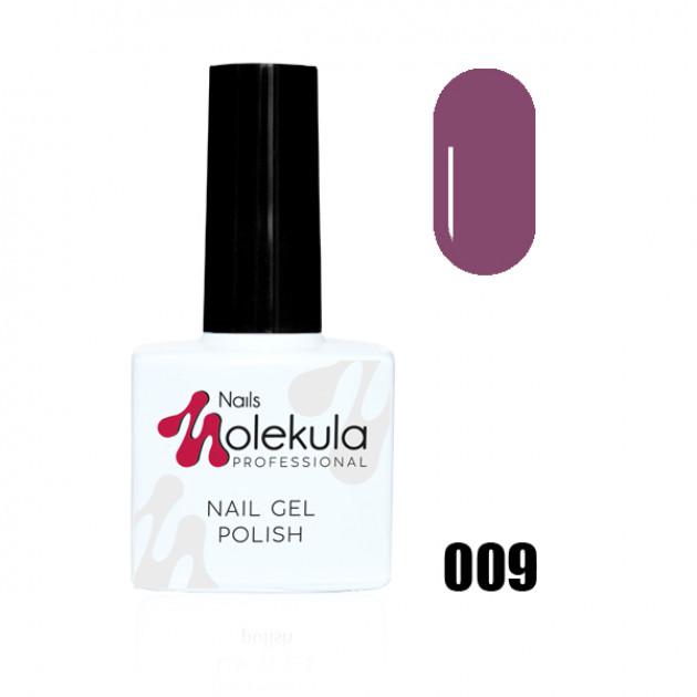 Гель-лак Gel Polish №009 Какао-пурпур Nails Molekula 11 мл