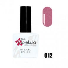 Гель-лак Gel Polish №012 Розовое мерцание Nails Molekula 11 мл