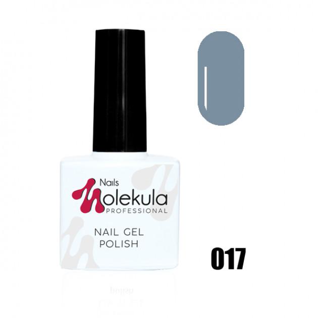 Гель-лак Gel Polish №017 Сизый Nails Molekula 11 мл