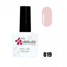 Гель-лак Gel Polish №019 Бежево-розовый френч Nails Molekula 11 мл