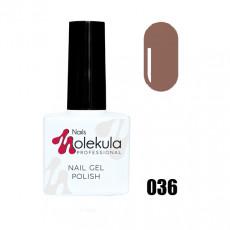 Гель-лак Gel Polish №036 Кофе с молоком Nails Molekula 11 мл