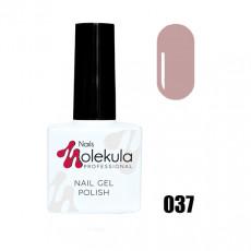 Гель-лак Gel Polish №037 Бежевый Nails Molekula 11 мл