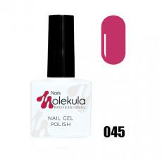 Гель-лак Gel Polish №045 Ягодно-пурпурный Nails Molekula 11 мл