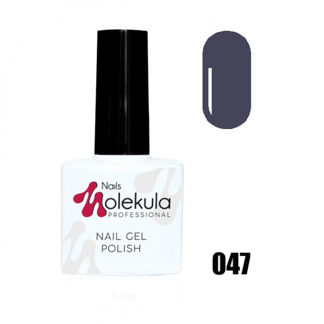 Гель-лак Gel Polish №047 Графит Nails Molekula 11 мл