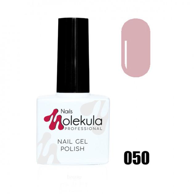 Гель-лак Gel Polish №050 Бежево розовый Nails Molekula 11 мл