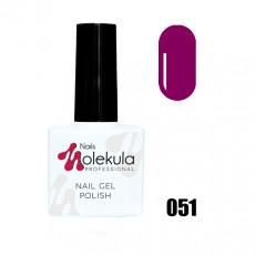 Гель-лак Gel Polish №051 Ягодно-малиновый Nails Molekula 11 мл