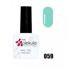 Гель-лак Gel Polish №059 Ментоловый Nails Molekula 11 мл