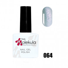 Гель-лак Gel Polish №064 Лунно-голубое сияние Nails Molekula 11 мл