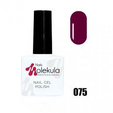 Гель-лак Gel Polish №075 Бордово сливовый Nails Molekula 11 мл