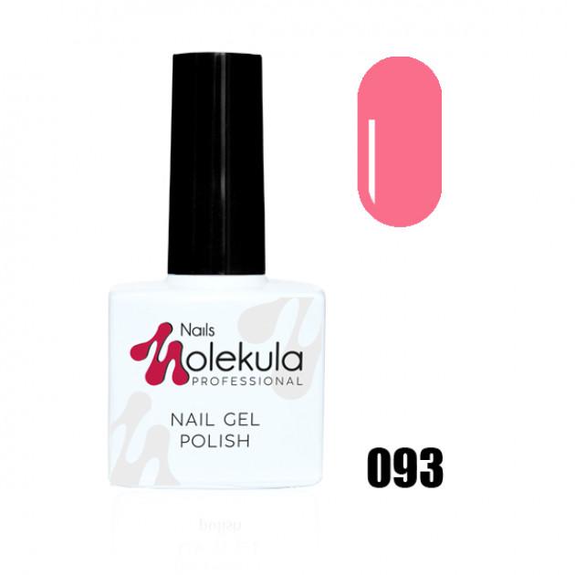 Гель-лак Gel Polish №093 Розовый Nails Molekula 11 мл