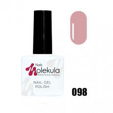 Гель-лак Gel Polish №098 Пастельный розовый Nails Molekula 11 мл