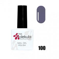 Гель-лак Gel Polish №100 Антрацитовый Nails Molekula 11 мл