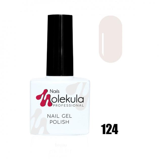 Гель-лак Gel Polish №124 Розовое облако Nails Molekula 11 мл