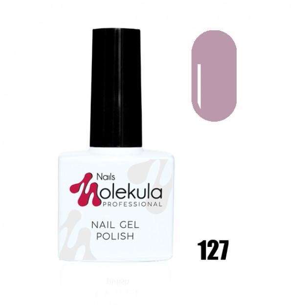 Гель-лак Gel Polish №127 Лиловый туман Nails Molekula 11 мл