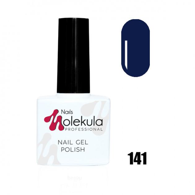 Гель-лак Gel Polish №141 Сапфир Nails Molekula 11 мл