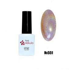 Гель-лак Holographic №551 Nails Molekula 6 мл