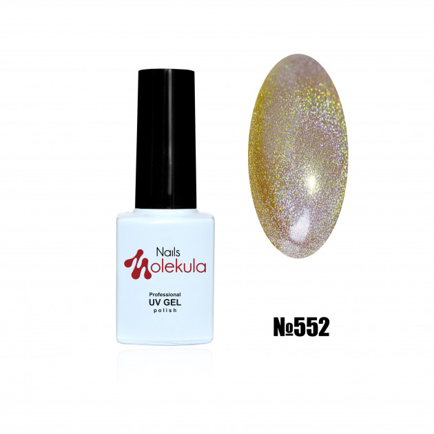 Гель-лак Holographic №552 Nails Molekula 6 мл