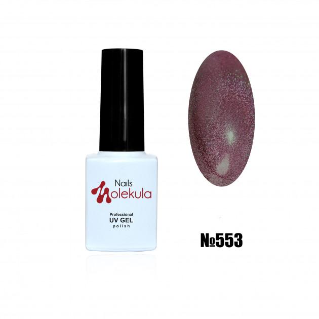 Гель-лак Holographic №553 Nails Molekula 6 мл