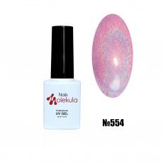 Гель-лак Holographic №554 Nails Molekula 6 мл