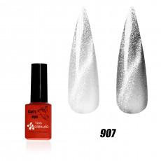 Гель-лак 9D эффект кошачий глаз №907 (кварцевый)Nails Molekula 6мл