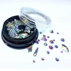Камни Алмаз 3D голографик Nails Molekula