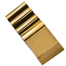 Фольга золото 1 м Nails Molekula