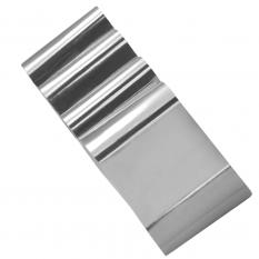 Фольга серебро 1 м Nails Molekula