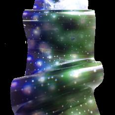 Фольга цветная, звезды 1 м Nails Molekula