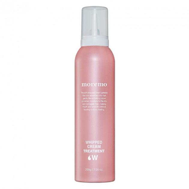 Протеиновая пена-уход для волос «Whipped Cream Treatment W» Moremo 250 г
