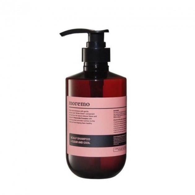 Очищающий шампунь Scalp Shampoo Clear and Cool Moremo 500 мл
