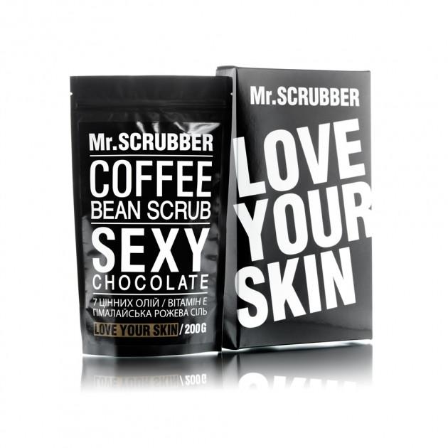 Кофейный скраб для тела Sexy Сhocolate Scrub Mr. Scrubber 200 г