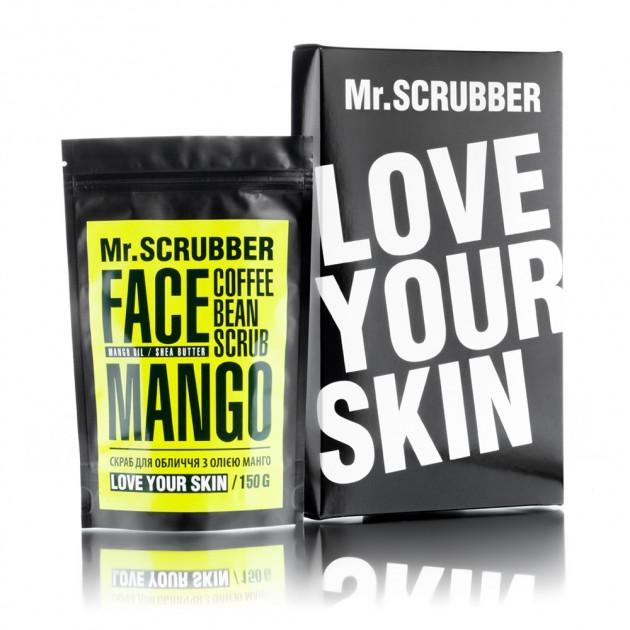 Кофейный скраб для лица Mango Mr. Scrubber 150 г