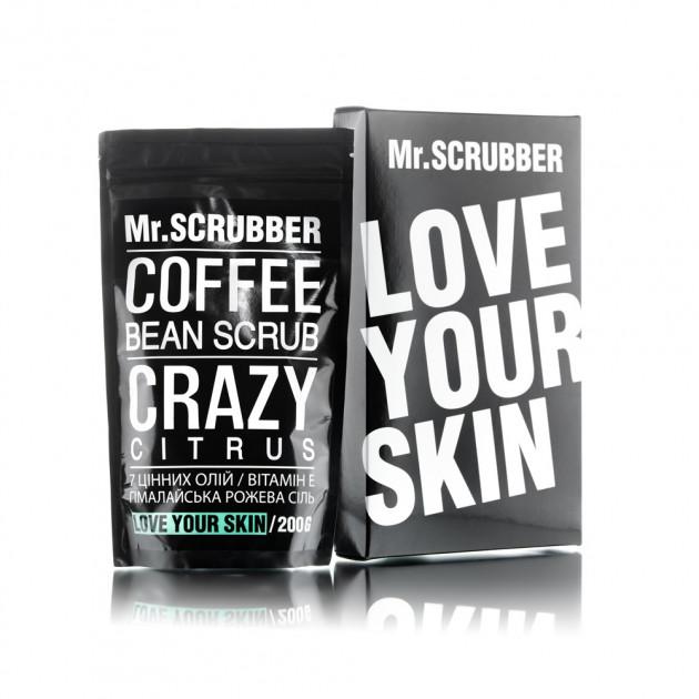 Кофейный скраб для тела Crazy Citrus Scrub Mr. Scrubber 200 г