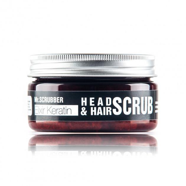 Скраб для кожи головы и волос Hair Scrub Elixir Keratinl Mr. Scrubber 100 мл