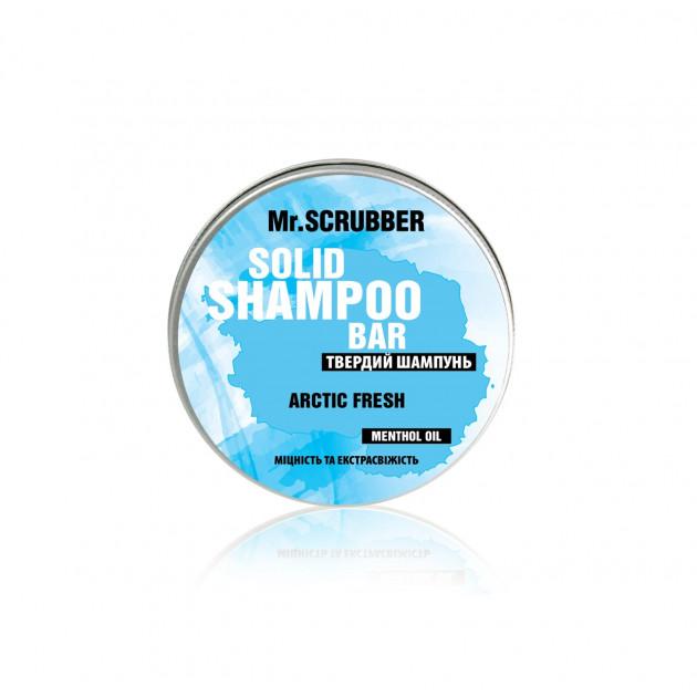 Твердый шампунь с ментолом Artic Fresh Mr. Scrubber 70 г