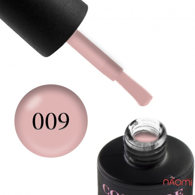 Гель-лак Couture Colour 009 телесный Naomi 9 мл