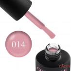 Гель-лак Couture Colour 014 пастельно-розовый с шиммером Naomi 9 мл