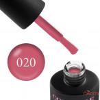 Гель-лак Couture Colour 020 светло-малиновый мусс Naomi 9 мл