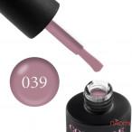 Гель-лак Couture Colour 039 пепел розы Naomi 9 мл