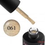 Гель-лак Couture Colour 061 золото с шиммером Naomi 9 мл