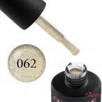 Гель-лак Couture Colour 062 сверкающий айвори с шиммером Naomi 9 мл