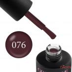 Гель-лак Couture Colour 076 бордово-шоколадный Naomi 9 мл