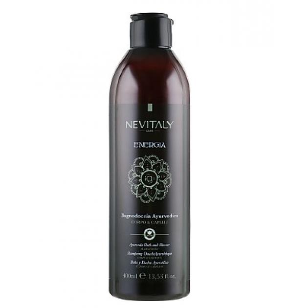 Аюрведическое очищающее средство для тела, лица и волос Nevitaly Energia Ayurveda Bath&Shower 400 мл