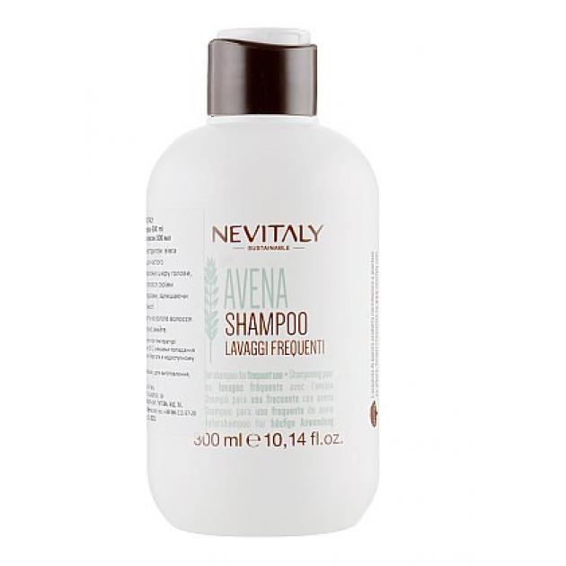 Шампунь для волос с экстрактом овса для частого использования Oatshampoo Nevitaly 1000 мл