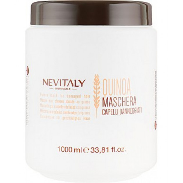 Маска с экстрактом органического киноа для поврежденных волос Nevitaly 1000 мл